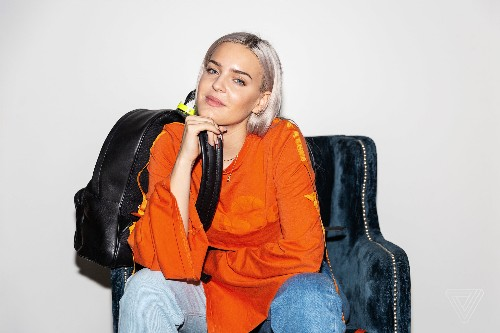 What's in your bag, Anne-Marie?