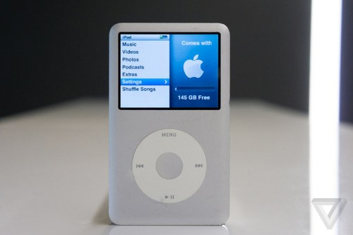 The iPod is gone, but not forgotten