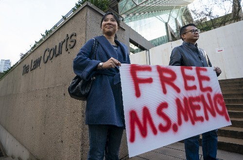 Huawei's CFO is granted bail by Canadian court but will be closely monitored