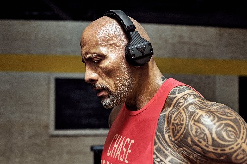 The Rock launches his own sweat-proof workout headphones