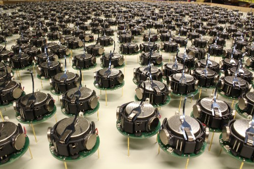 Watch a thousand robots execute the ultimate nerd choreography