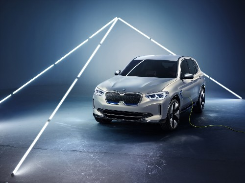 BMW's iX3 is the company's first normal-looking all-electric car