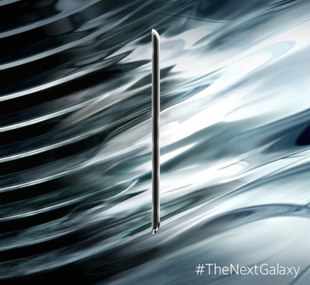 Samsung teases Galaxy S6 with metal design and curved, anti-reflective display