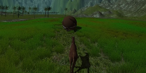 'Minecraft' creator's new game makes a statement with weird horse physics