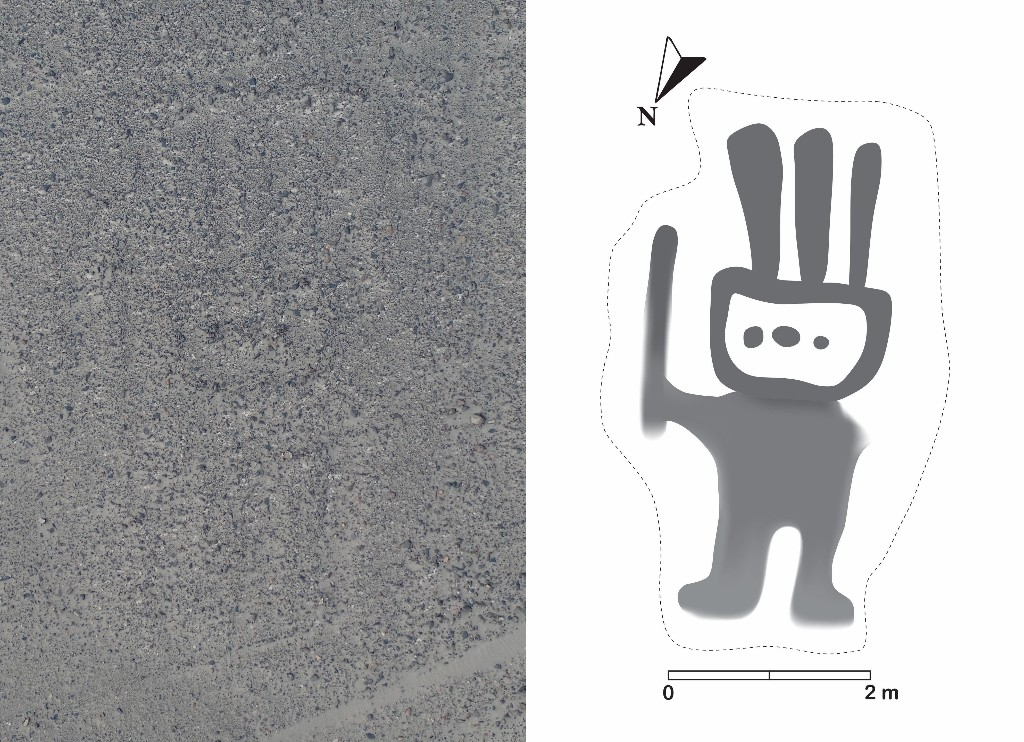 AI helps discover new geoglyph in the Nazca Lines