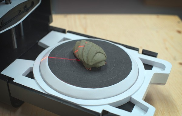 Matterform crowdfunds a simple, well-designed 3D scanner that could arrive this summer