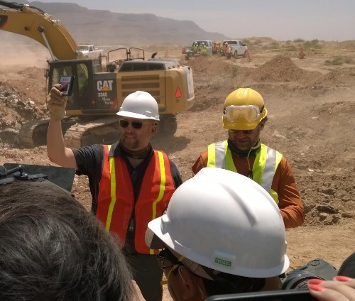 Construction workers unearth legendary cache of Atari games in New Mexico desert