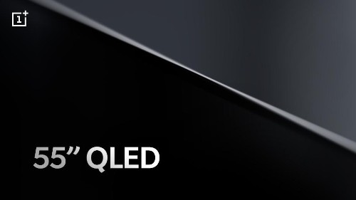 OnePlus says its TV will have a 55-inch QLED panel
