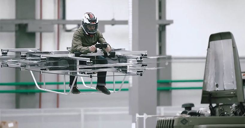 The company that makes AK-47s just built a working hoverbike
