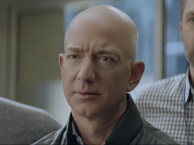 Watch Jeff Bezos in this teaser for Amazon's Alexa Super Bowl commercial