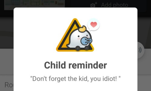 Waze's new feature will remind you not to leave your child in your car