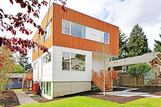 This Eco-Friendly Seattle House Can Be Built in Just 29 Hours