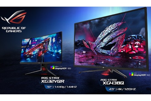 Asus announces three giant HDR gaming monitors