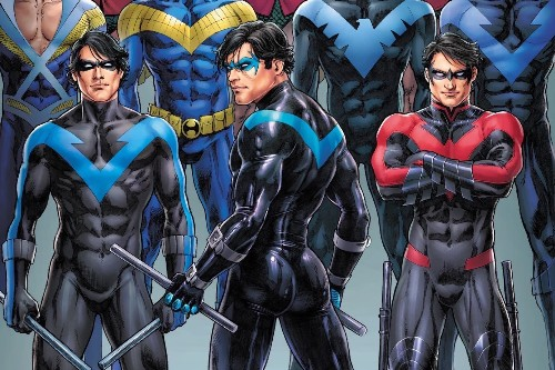 Twitter discovered Nightwing's butt this week, and it was glorious