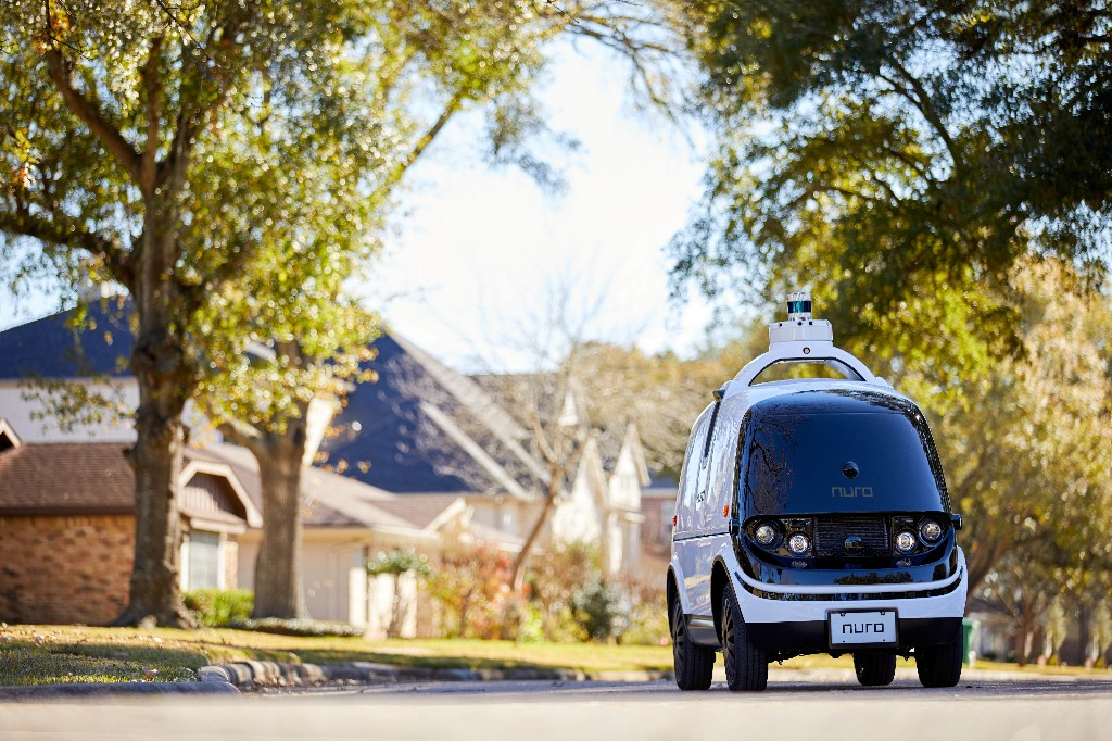 Nuro's driverless delivery robots will transport medicine to CVS customers in Texas