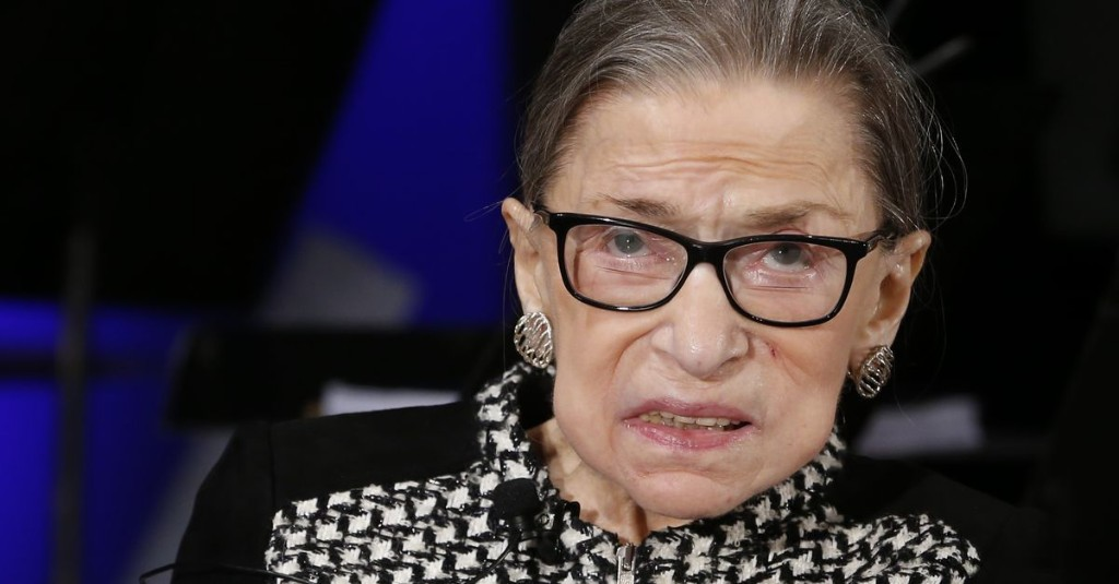 Ruth Bader Ginsburg hospitalized again, getting treatment for possible infection