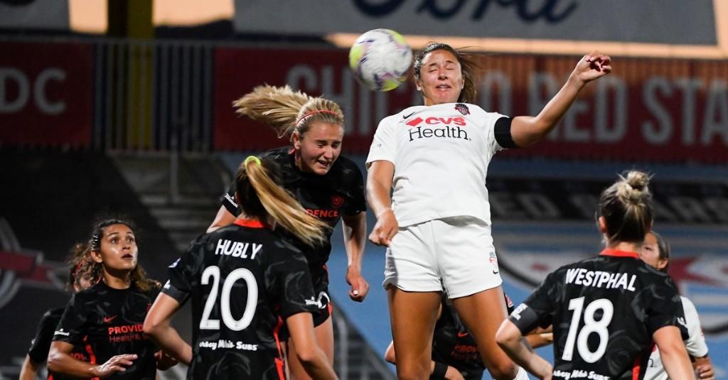 Recap: Spirit, Portland Thorns trade set piece goals in 1-1 Challenge Cup draw