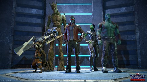 Telltale unveils the first look at its upcoming Guardians of the Galaxy game