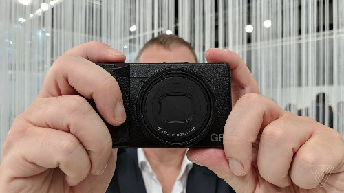Ricoh's GRIII camera is just tiny and powerful enough to survive the smartphone age