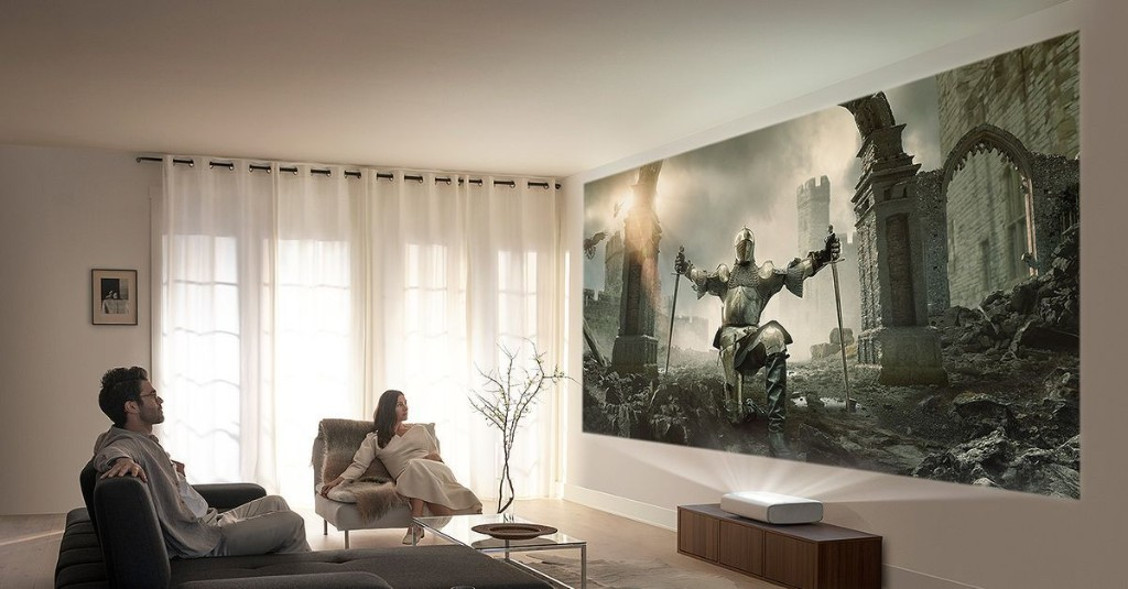 Samsung's Premiere 4K laser projector now available, starting at $3,499