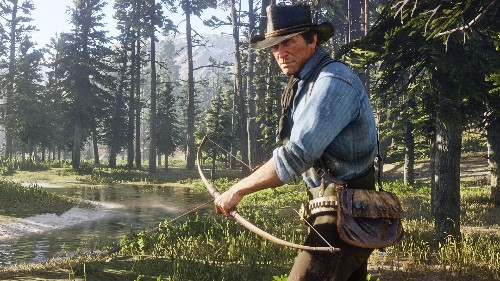 Red Dead Redemption 2 is much easier on an all-alligator diet