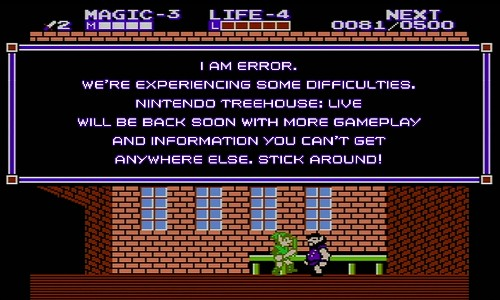 When the power went out at E3, Nintendo was prepared