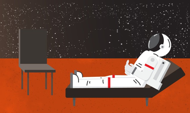How to prevent an astronaut bloodbath on Mars