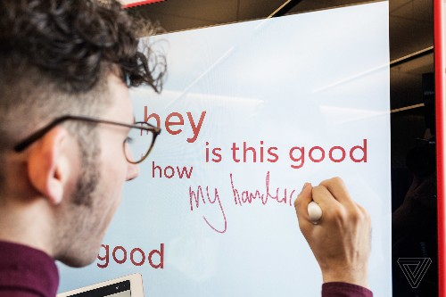 Google made a $5,000 whiteboard — and it's weirdly fun