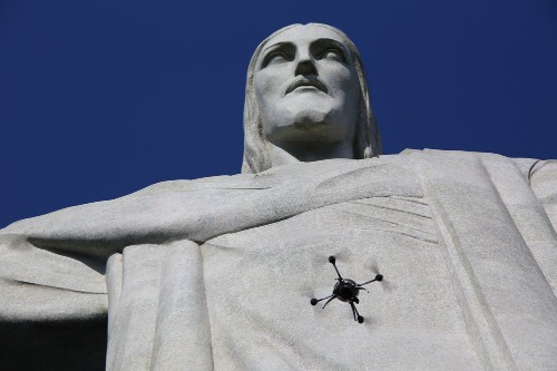 Christ the Redeemer mapped by drone to create first ever accurate model