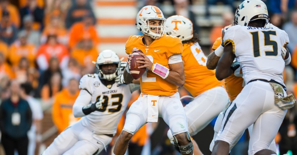 Tennessee opens as big favorite over Missouri