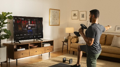Peloton adds an Android TV app for streaming workouts at home