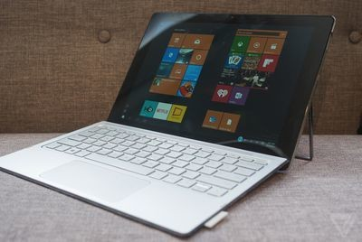 HP made a Surface competitor with an even cooler kickstand