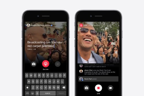 Facebook introduces Live for Mentions, a live-streaming tool for celebrities only
