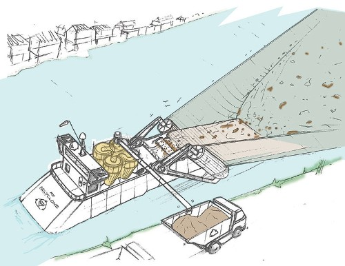 James Dyson wants to build a giant floating vacuum to clean rivers