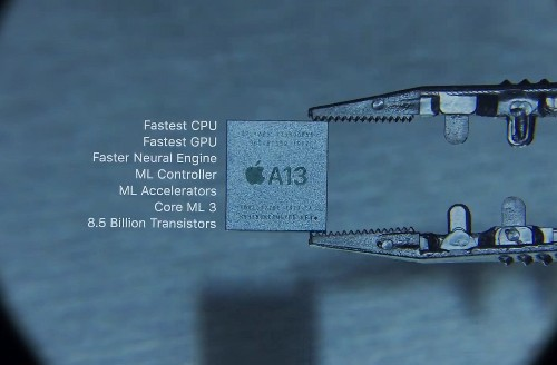 Apple says its new A13 Bionic chip brings hours of extra battery life to new iPhones