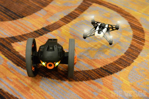 Parrot reveals new affordable flying drone and two-wheeler built from the AR.Drone
