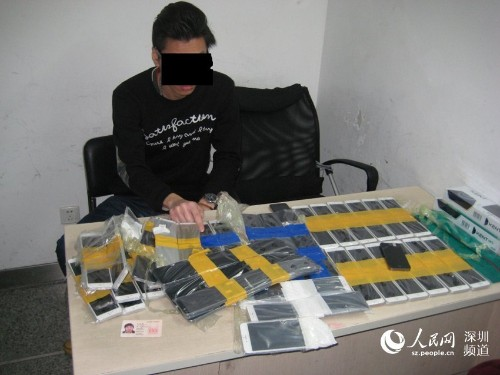 This is how you smuggle 94 iPhones over the Chinese border