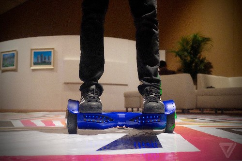 Swagway's new Swagtron hoverboard has Bluetooth speakers and apparently won't explode