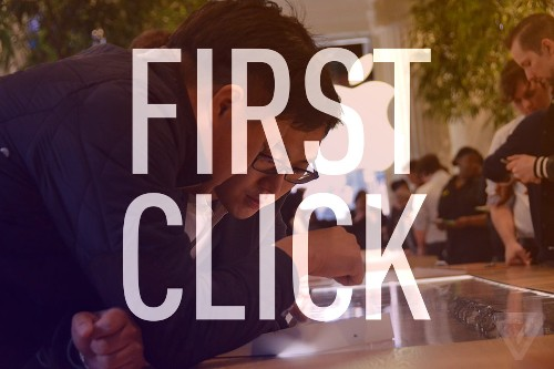 First Click: now it's your turn to review the Apple Watch