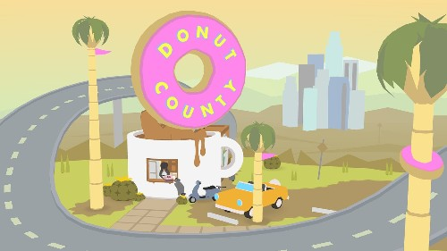 Donut County is a game about swallowing Los Angeles and realizing you're an asshole