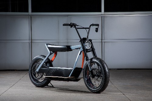 Harley-Davidson's electric scooter concept is more exciting than its electric motorcycle