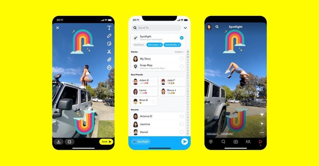 Snapchat News - cover