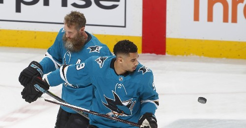Logan Couture wants Joe Thornton to finish his career on his terms