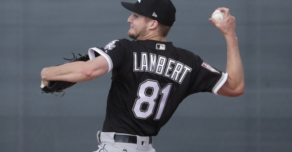 Right-hander Jimmy Lambert impresses in White Sox intrasquad