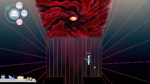 Cibele is a game about the muddled reality of video games and online love