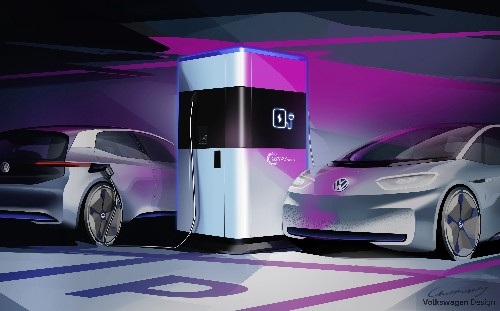 Volkswagen's mobile charging station will help solve a key problem with EVs