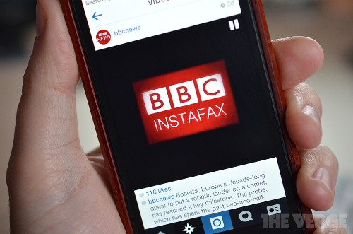 BBC tries Instagram video to deliver daily news