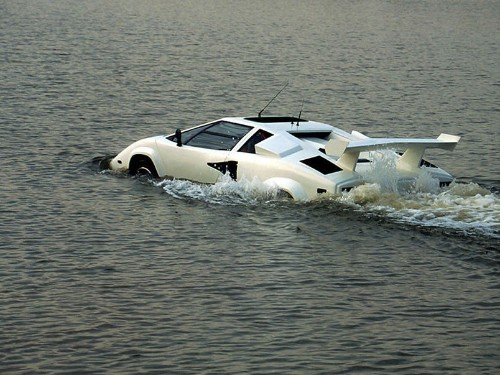 You can buy a fake amphibious Lambo for just $27,000 on eBay right now