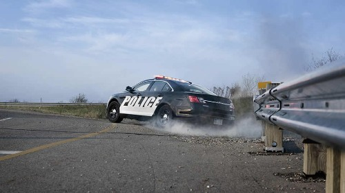 Ford will track police cruisers to catch speeding cops