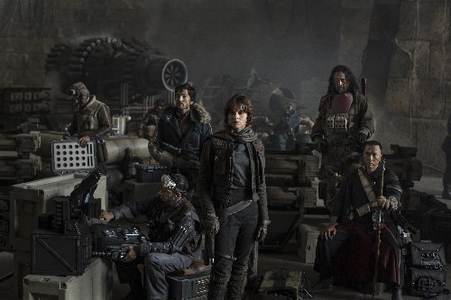 Here's the first photo from Star Wars: Rogue One